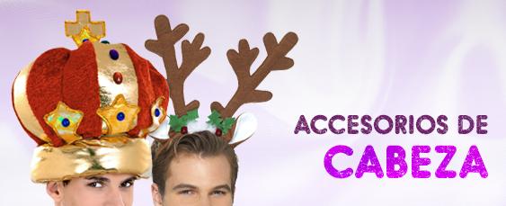 accesorios cabeza navidad