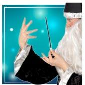 Accesorios de brujas y hechiceros