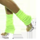 Accesorios de piernas de colores