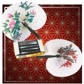 Accesorios de chinos, orientales, ninjas y geishas