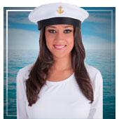 Accesorios de marinero y marinera