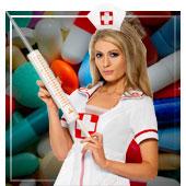 Ärzte und Krankenschwester Accessoires