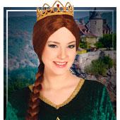 Accesorios de princesas, reyes y príncipes
