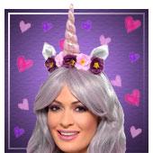 Accesorios para disfraces de unicornio