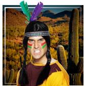 Zubehör Cowboys und Indianer