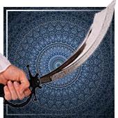 Armas de árabe e Hindús