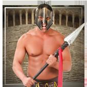 Römer, Ägypter und Griechen Waffen