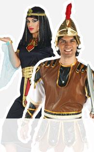 Egipcios, griegos y romanos