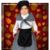 Castañera Kostüm für Bebe