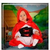 Disfraces de dibujos animados y cuentos para bebe