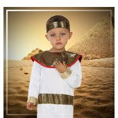 Disfraces para bebe de romanos, egipcios y griegos