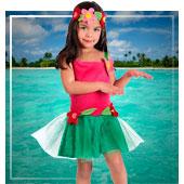 Disfraces de hawaianos para bebe