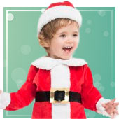 Disfraces de Mamá Noel para bebé