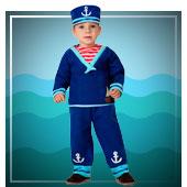 Disfraces de marinero para bebé