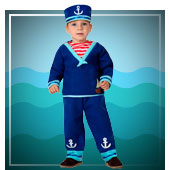 Baby Kostüme Sailor
