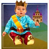 Disfraces medievales para bebe