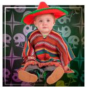 Costumi di Messicano per bebé