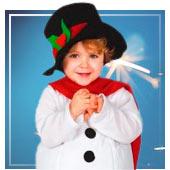Disfraces de Muñeco de Nieve para bebé