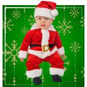 Disfraces de Papa Noel para Bebe
