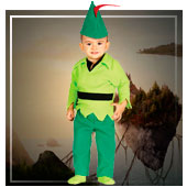 Disfraces de personajes de la historia para bebe