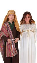 disfraz de belén para niños