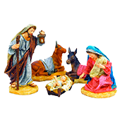 Figuras y decoración de belén