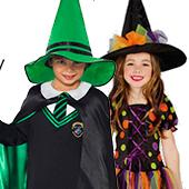 Disfraces de brujas y hechiceros