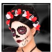 Accessoires cheveux Dia de los Muertos