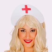 Accesorios cabeza de medicos y enfermeras
