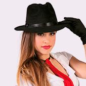 Chapeaux de Gangsters et Mafia
