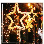 Éclairage de Noël