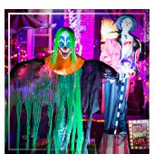 Decoración terrorífica para Halloween
