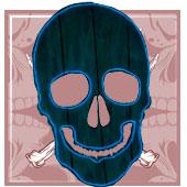 Decoración de esqueletos y Muerte