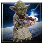 Decoración y Porta-caramelos de Star Wars