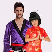 Déguisements de Chinois, Ninja et Oriental