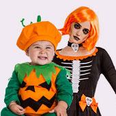 Déguisements de Citrouilles pour Halloween