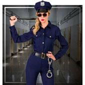 Déguisements de Police et Prisonnier pour femmes