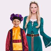 Déguisements de Princesses, Rois et Princes