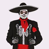 Masques de Squelettes et Faucheuses pour homme