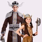 Déguisements de Vikings et Barbares