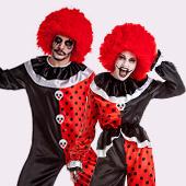 Disfraces de circo siniestro