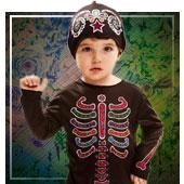 Disfraces Día de los Muertos para bebé