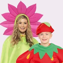 Disfraces de Frutas y Flores