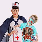 Disfraces de medicos y enfermeras
