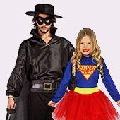 Disfraces de superheroes y comic