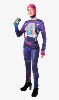Disfraz Brite Bomber Fortnite para mujer
