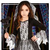 Disfraces de Novia Cadáver para niña