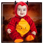 Disfraces de demonios y diablesas para bebe