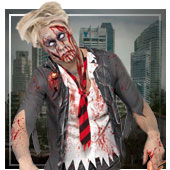 Costumi di Zombies per gli uomini