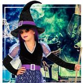 Disfraces de brujas para niña